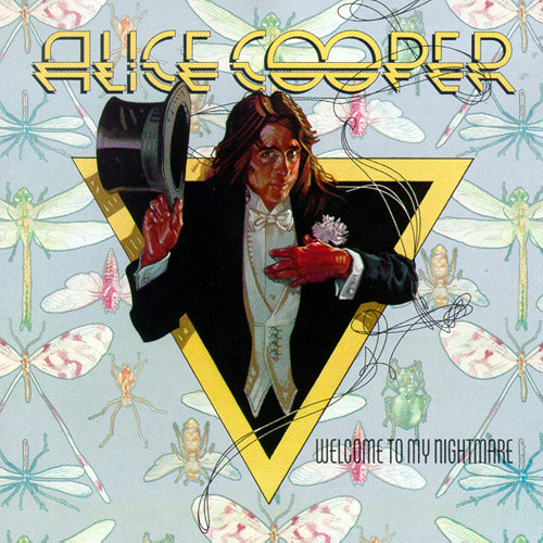 ALICE COOPER - Welcome To My Nightmare cover