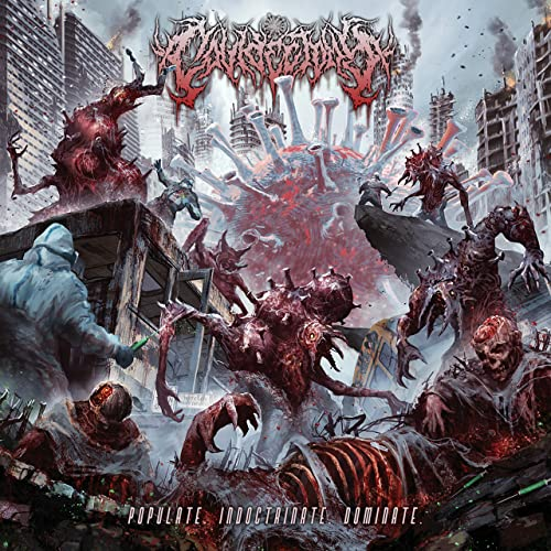 COVIDECTOMY - Populate. Indoctrinate. Dominate. cover
