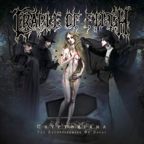 CRADLE OF FILTH - Cryptoriana - The Seductiveness of Decay cover