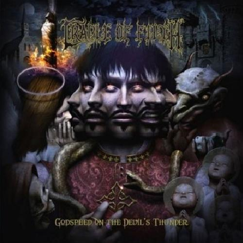 CRADLE OF FILTH - Godspeed on the Devil's Thunder: The Life and Crimes of Gilles de Rais cover