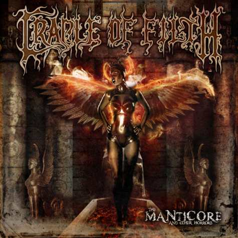 CRADLE OF FILTH - The Manticore and Other Horrors cover