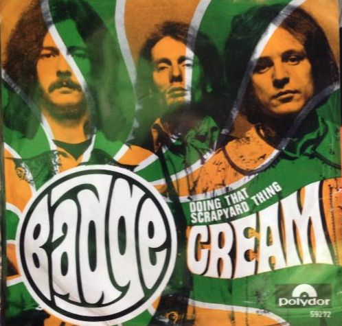 CREAM - Badge cover