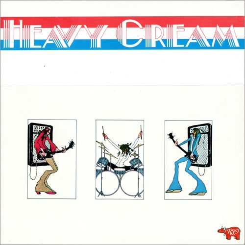 CREAM - Heavy Cream cover