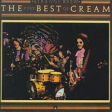CREAM - Strange Brew: The Very Best Of Cream cover