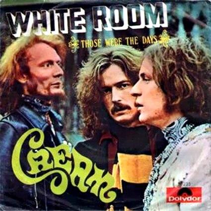 CREAM - White Room cover