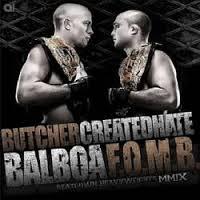 CREATED HATE - Beatdown Heavyweights MMIX cover