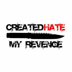 CREATED HATE - My Revenge cover