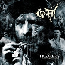 CRETIN - Freakery cover