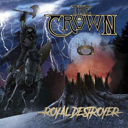 THE CROWN - Royal Destroyer cover