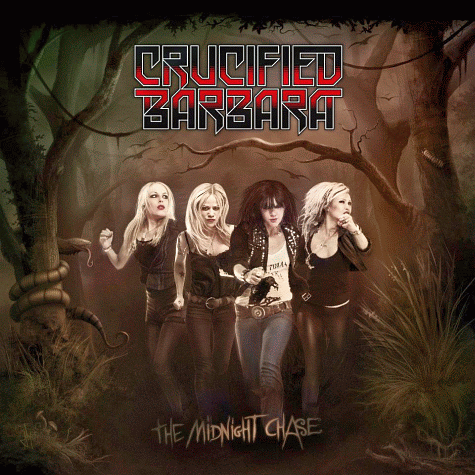 CRUCIFIED BARBARA - The Midnight Chase cover