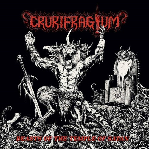 CRURIFRAGIUM - Beasts of the Temple of Satan cover