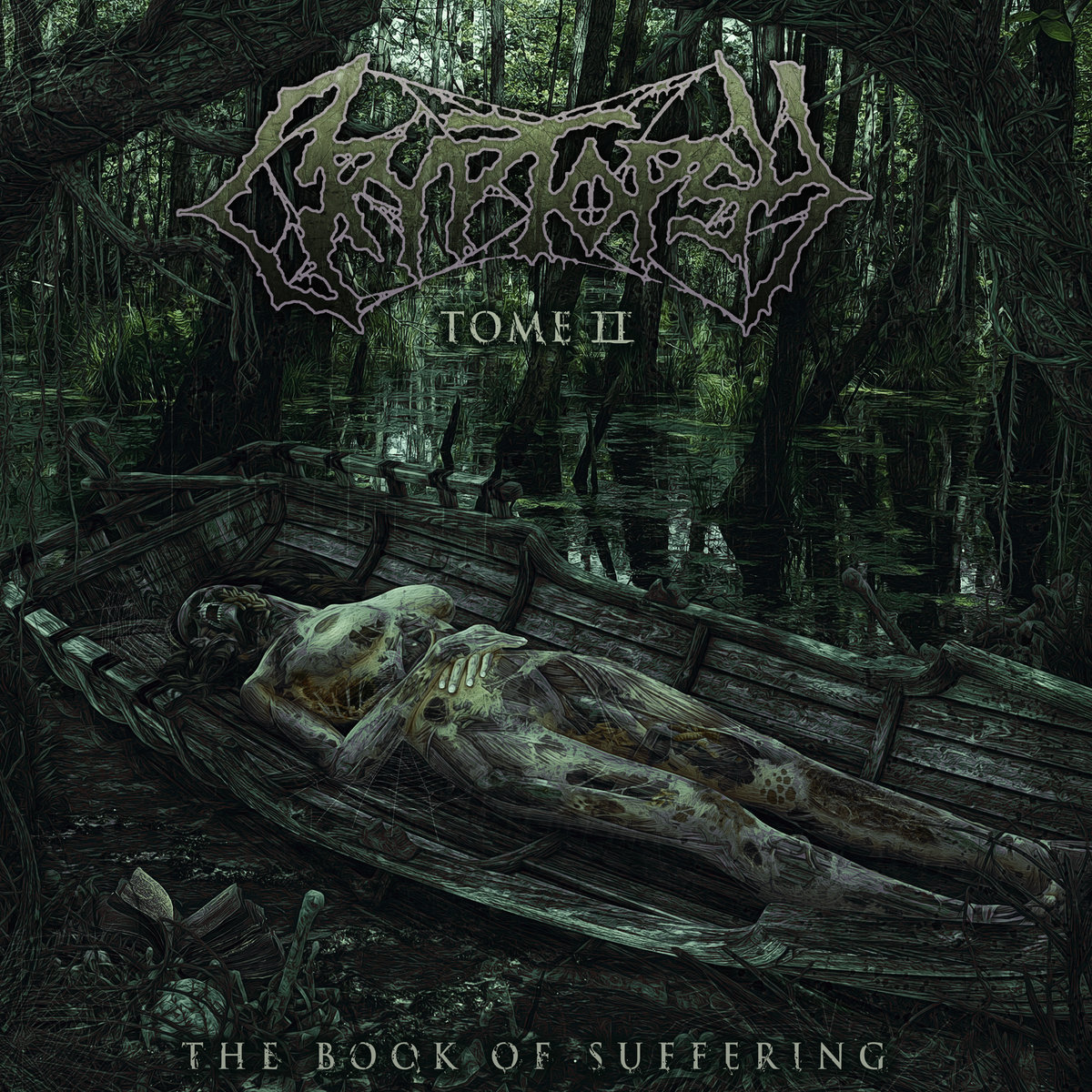CRYPTOPSY - The Book of Suffering - Tome II cover