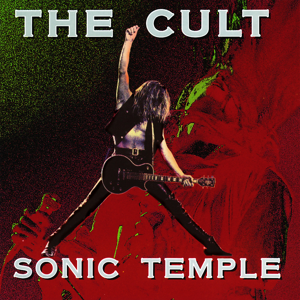 THE CULT - Sonic Temple cover