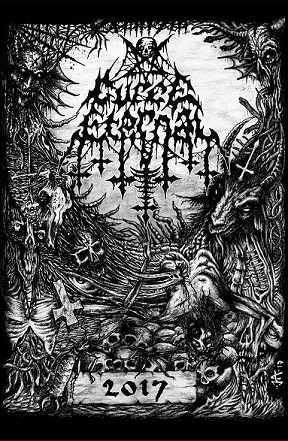CURSE ETERNAL - Demo 2017 cover