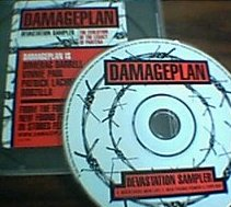 DAMAGEPLAN - Devastation Sampler cover