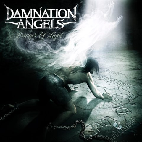 DAMNATION ANGELS - Bringer of Light cover