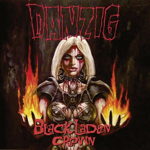 DANZIG - Black Laden Crown cover