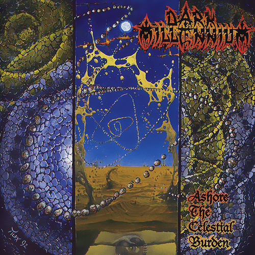 DARK MILLENNIUM - Ashore the Celestial Burden cover