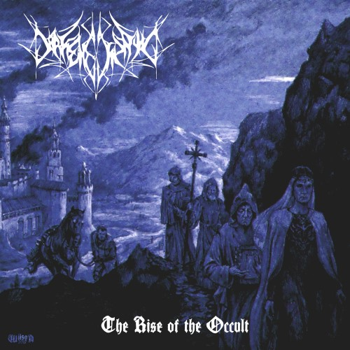 DARKENED SPAWN - The Rise of the Occult cover