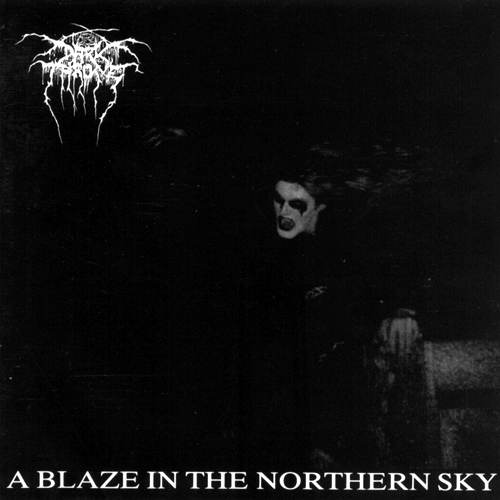 DARKTHRONE - A Blaze in the Northern Sky cover