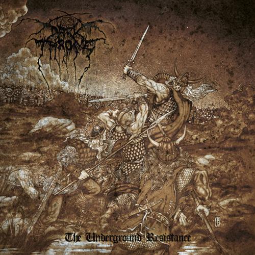 DARKTHRONE - The Underground Resistance cover
