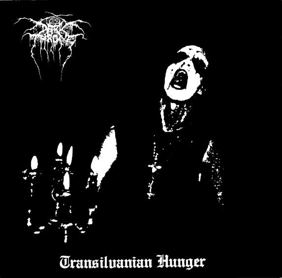 DARKTHRONE - Transilvanian Hunger cover