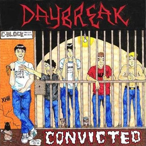DAYBREAK - Hardcore's Independent New Generation / Convicted cover