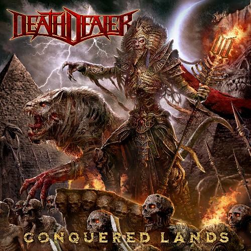 DEATH DEALER - Conquered Lands cover