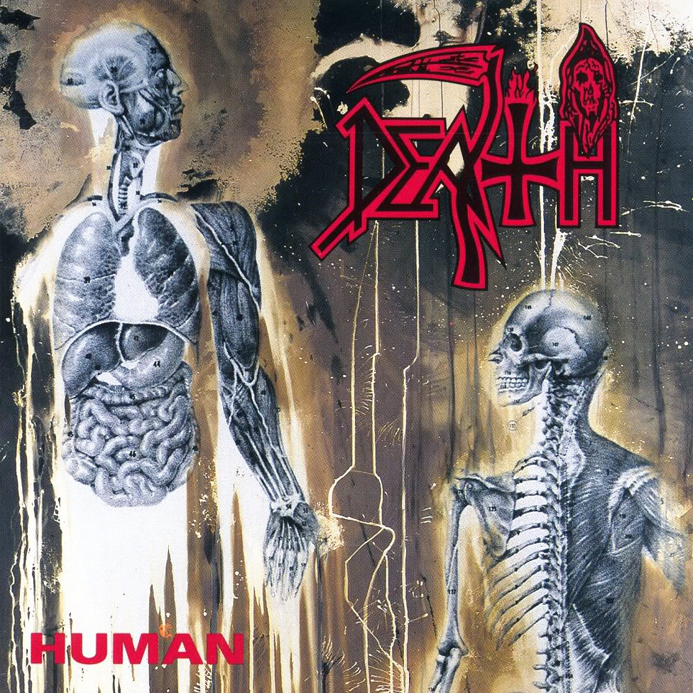 DEATH - Human cover