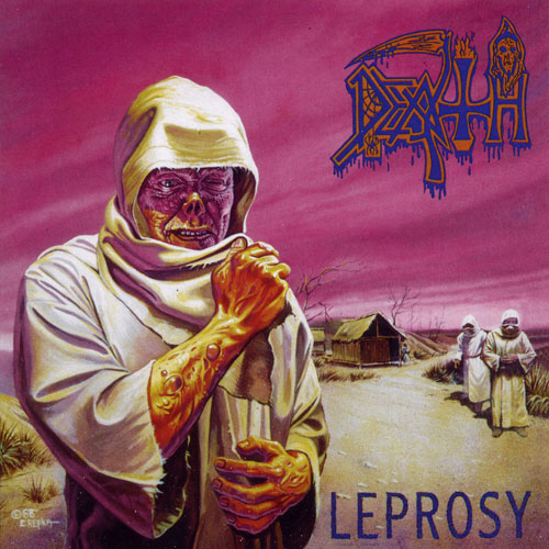 DEATH - Leprosy cover