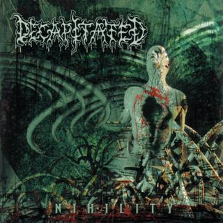 DECAPITATED - Nihility cover