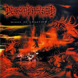 DECAPITATED - Winds of Creation cover