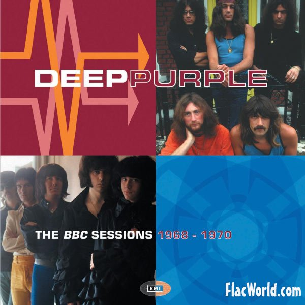 DEEP PURPLE - BBC Sessions 1968-1970 cover