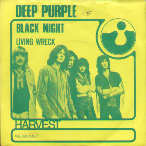 DEEP PURPLE - Black Night cover