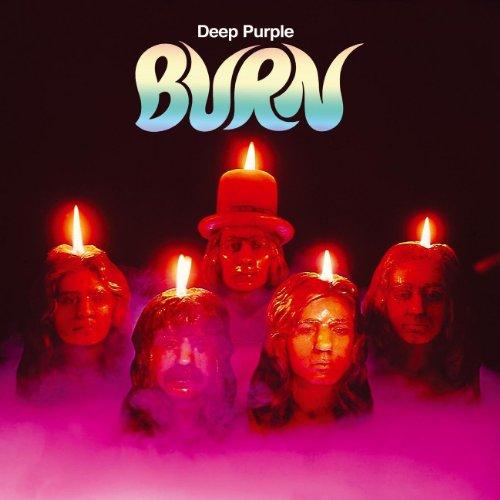 DEEP PURPLE - Burn cover