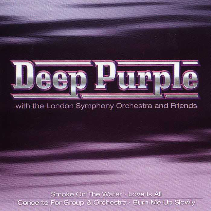 DEEP PURPLE - Deep Purple With The London Symphony Orchestra And Friends cover