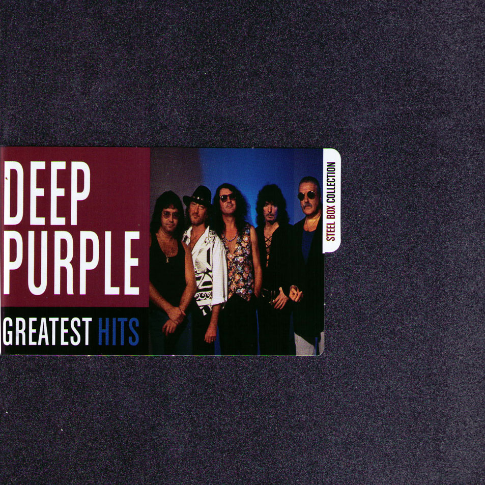 DEEP PURPLE - Greatest Hits: Steel Box Collection cover