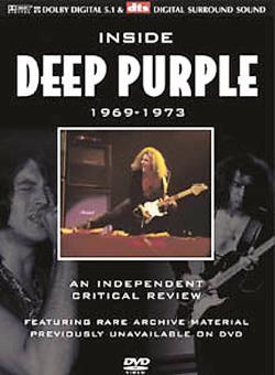 DEEP PURPLE - Inside Deep Purple 1969-1973 cover