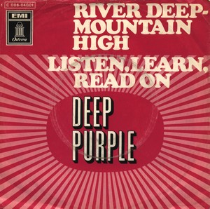 DEEP PURPLE - Listen, Learn, Read On / River Deep - Mountain High cover