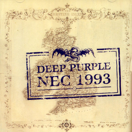 DEEP PURPLE - Live At The NEC 1993 cover