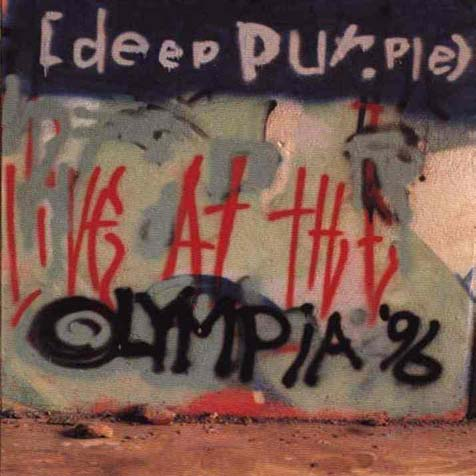 DEEP PURPLE - Live At The Olympia '96 cover