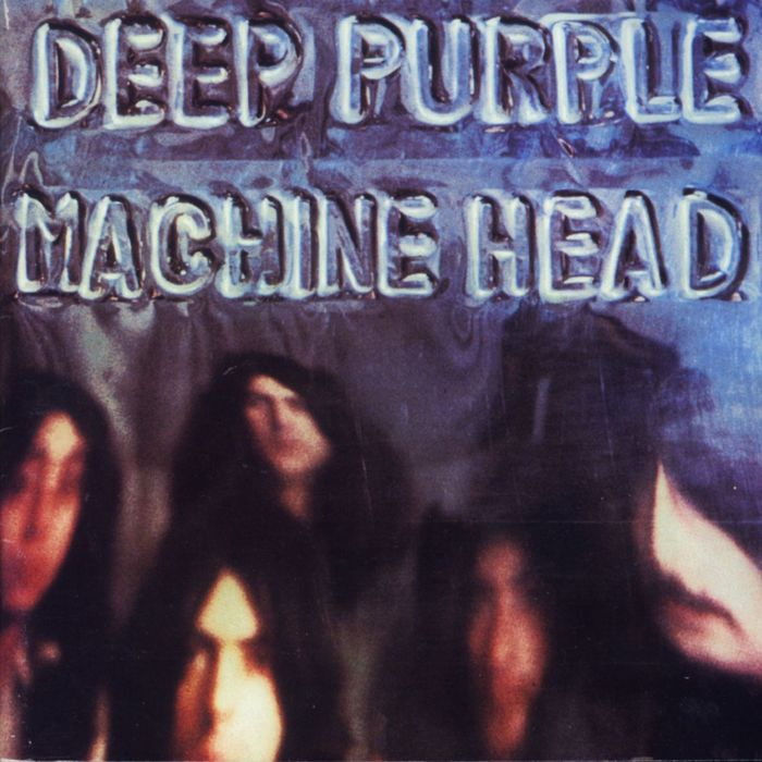 DEEP PURPLE - Machine Head cover
