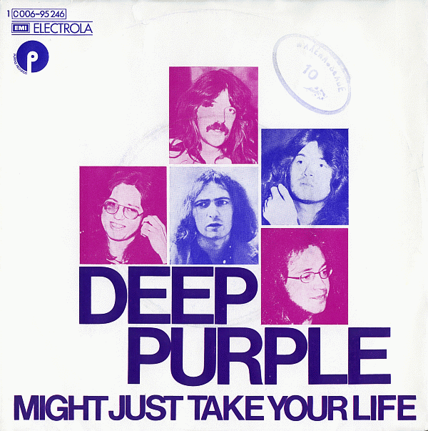 DEEP PURPLE - Might Just Take Your Life cover