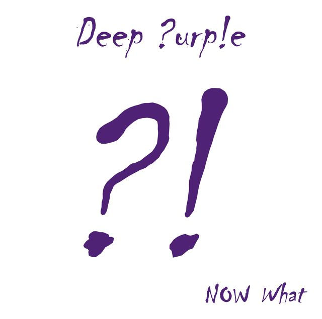 DEEP PURPLE - Now What?! cover