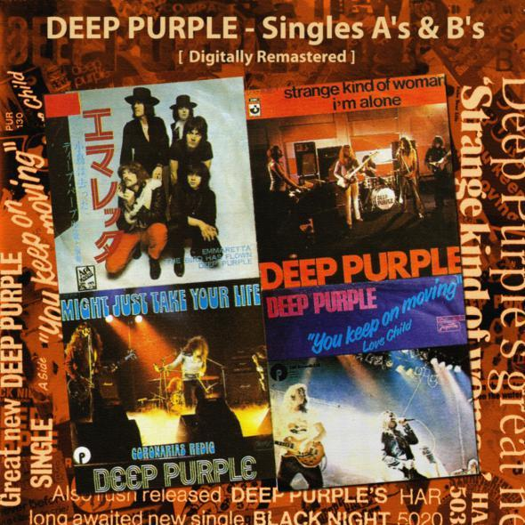 DEEP PURPLE - Singles A's And B's cover