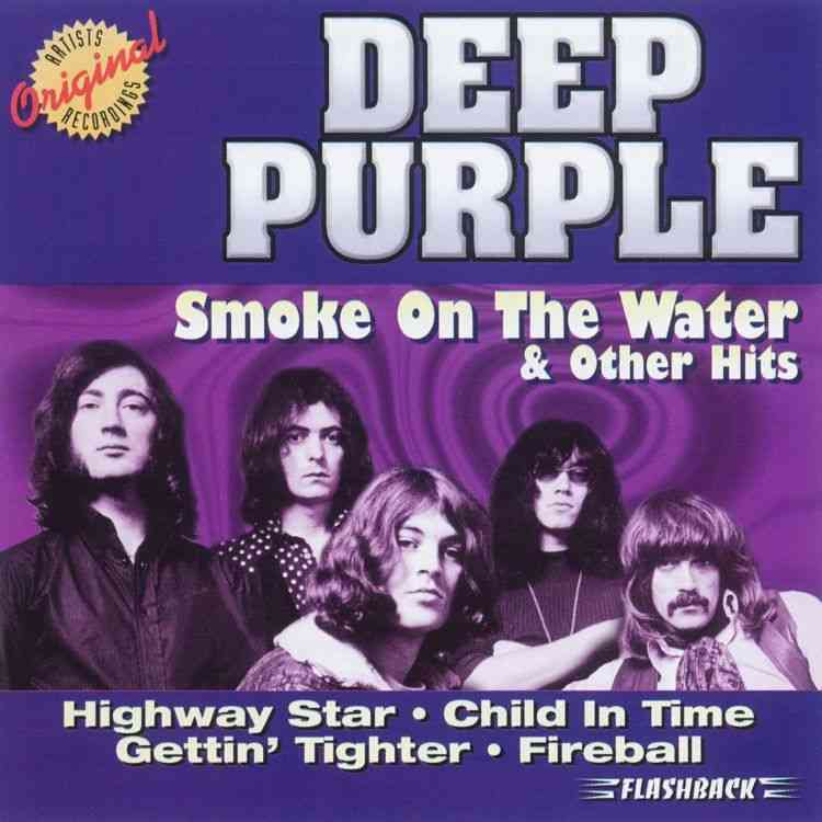 DEEP PURPLE - Smoke On The Water & Other Hits cover