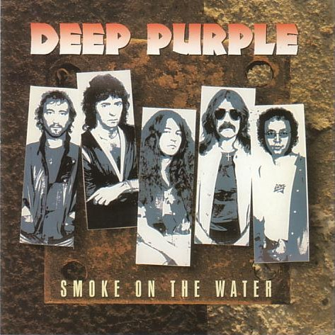 DEEP PURPLE - Smoke On The Water (Polygram) cover