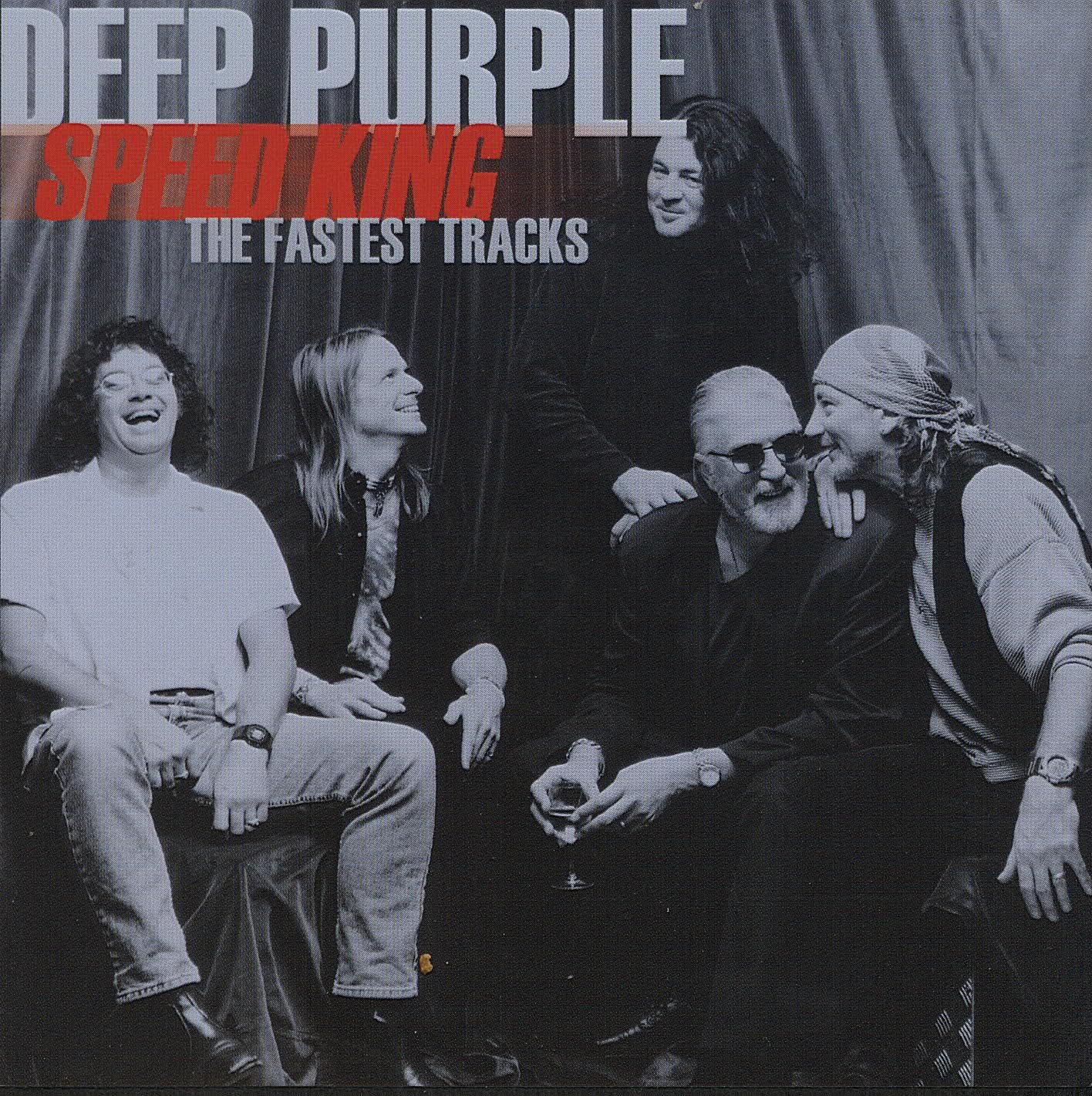 DEEP PURPLE - Speed King: The Fastest Tracks cover