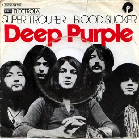 DEEP PURPLE - Super Trouper / Blood Sucker cover