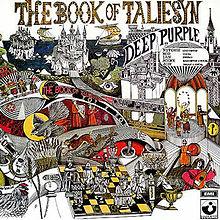 DEEP PURPLE - The Book Of Taliesyn cover